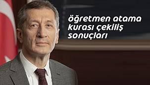 Milli Eğitim Bakanlığı Öğretmen Atama listesi