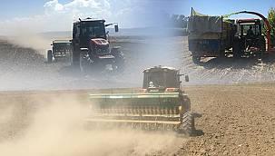 Van'da çiftçilere destek devam ediyor - Hem tohum verildi hem de beraber biçildi