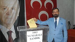 Van'da MHP Kongresinde başkan belli oldu