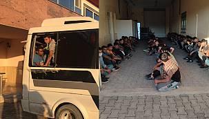 Van haber - Van plakalı araçta 65 kaçak göçmen çıktı - Videolu