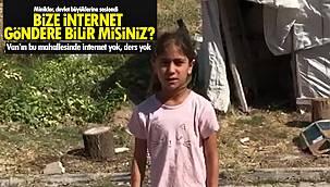Van'ın bu mahallesinde İnternet yok, ders yok - 'Bize İnternet göndere bilir misiniz?'