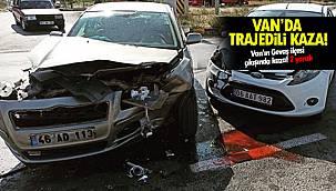 Van'ın Gevaş ilçesi çıkışında kaza! 2 yaralı