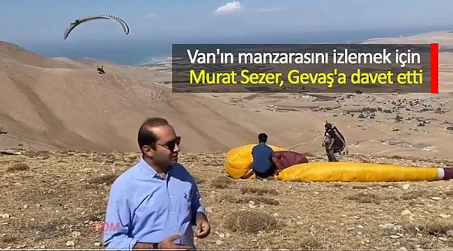 Van'ın manzarasını izlemek için Murat Sezer, Gevaş'a davet etti