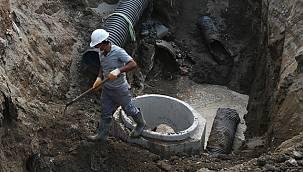 Vaski, yeni kanalizasyon hattını 15 gün sonra tamamlandı