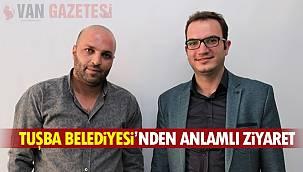 Tuşba Belediyesi'nden Van Gazetesi ailesine Ziyaret