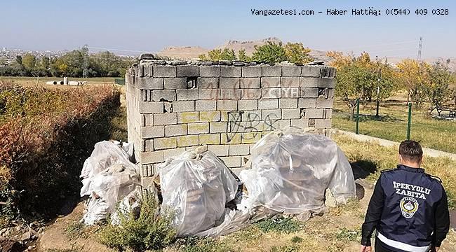 Van'da Kaçak Yapılar Bir Bir Yıkıldı