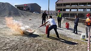Van Yangın söndürme, kurtarma, tahliye ve ilk yardım eğitimi
