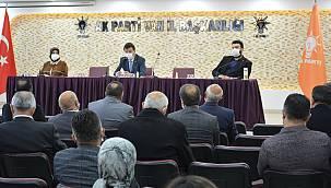 Ak Parti Van il başkanından açıklama - 'Bu koltukların bu makamların...'