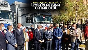Kandaşoğlu, İzmir'in acısına ortak oldu