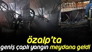 Özalp'ta Geniş Çaplı Yangın Meydana Geldi