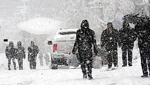 Van için kar uyarısı