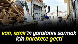 Van, İzmir'in Yaralarını Sarmak İçin Harekete Geçti