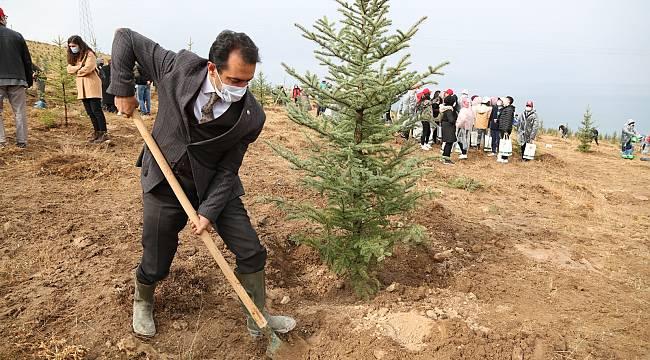 VASKİ Müdürü, Edremit'te Ağaç dikimi gerçekleştirdi