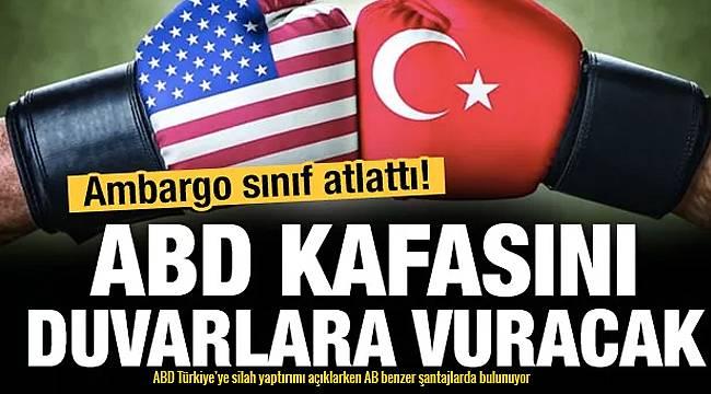 ABD Türkiye'ye silah yaptırımı açıklarken AB benzer şantajlarda bulunuyor