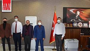 Büyük Birlik Partisi'nden Sağlık Müdürü Doç. Dr. Mahmut Sünnetçioğlu'na Ziyaret