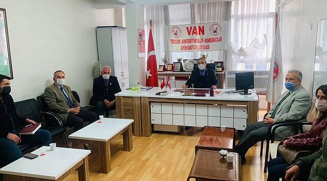 Gelecek Partisi Van İl Başkanlığı STK ve Odaları Ziyaret etti