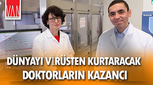 Mucize aşıyı bulan doktorların mükafatı