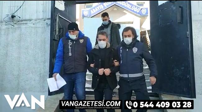 2 Yıldır firar olan ve 6 dosyadan yargılanan şahıs Van'da tutuklandı, Detaylar Van Haber'de