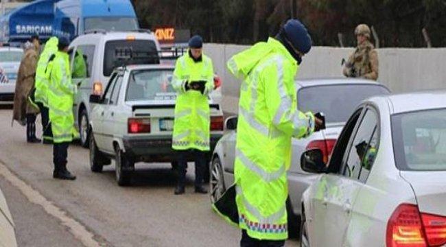 7.9 milyon liralık trafik cezası