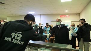 Başkan Salih Akman Sağlıkçıları ve Güvenlik güçlerini unutmadı
