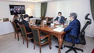 DAKA Yönetim Kurulu Toplantısı Vali Bilmez Başkanlığında Gerçekleştirildi