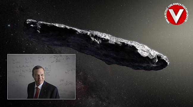 Prof. Avi Loeb'den ilginç görüntü - Dünya'ya uzaylılar mı geldi?