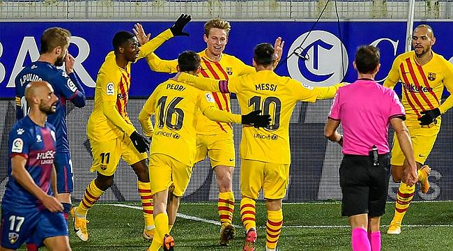 İspanya La Liga'nın 17. haftasında Barcelona