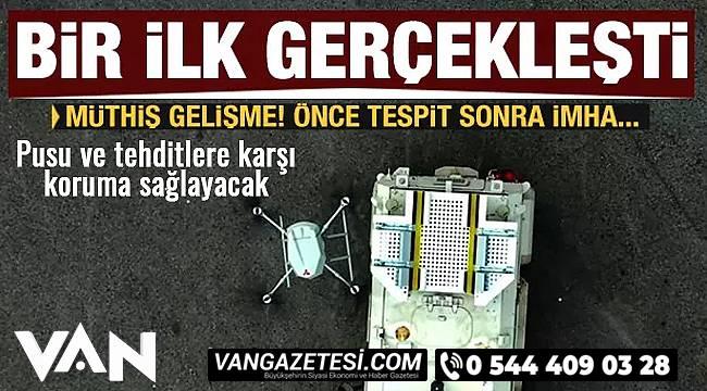 Pusu ve tehditlere karşı koruma sağlayacak - Songar silahlı drone sistemi