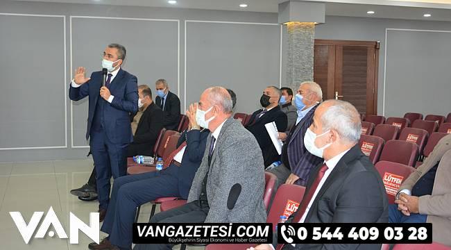 Van Ak Parti'den 7 İlçe Belediye Başkanları ile Çalışma ve Değerlendirme Toplantısı