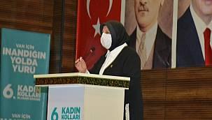 Van Ak Parti Kadın kolları başkanı Havva Duran Güven Tazeledi