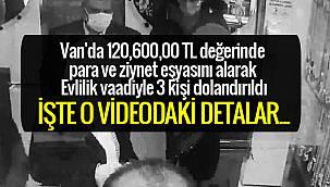 Van'da 120,600,00 TL değerinde para ve ziynet eşyasını alarak Evlilik vaadiyle 3 kişi dolandırıldı
