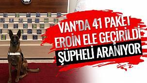 Van'da 41 Paket Eroin Ele Geçirildi