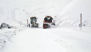Van'da Abalı kayak merkezinde kar kalınlığı 27 santimetreye ulaştı