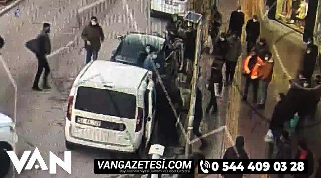 Van'da yankesiciler rahat durmadı, Bir kadını önce takip etti sonra ise...