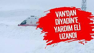 Van'dan Diyadin'e Yardım Eli Uzandı