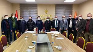 Van Ekonomi Konseyi Ak Partiyi Van il başkanını ziyaret etti