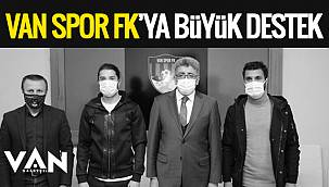Vanspor FK'ya büyük destek geldi