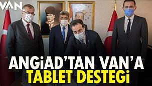 ANGİAD'tan Van'a Tablet Desteği