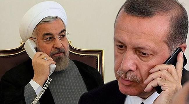 Cumhurbaşkanı, Ruhani ile telefonda görüştü - Van sınır kapısı konuşuldu mu?