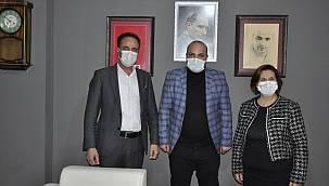 Deva Partisi Van il yönetimi Van Gazetesi'ni ziyaret etti