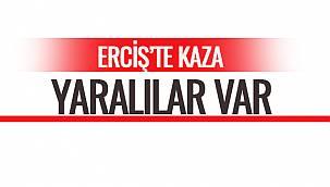 Erciş'te Kaza-Yaralılar Var