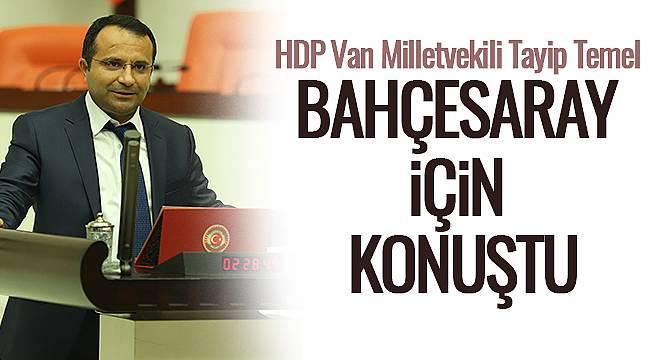 HDP Van Milletvekili Tayip Temel Bahçesaray İçin Konuştu