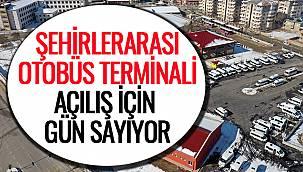 Şehirlerarası Otobüs Terminali Açılış İçin Gün Sayıyor