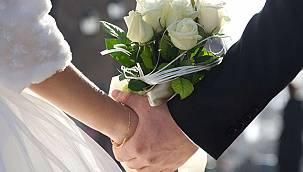 Türkiye'de 2020 yılında evlenme oranları belli oldu.