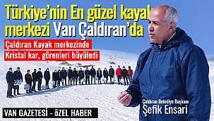 Türkiye'nin En güzel kayak merkezi Van Çaldıran'da - Detaylar Vanhaber'de