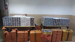 Van'da 12 bin paket kaçak sigara operasyonu