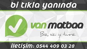 Van Matbaa, Van Reklam, 0544 409 0328, Van'da Matbaa, Vanda reklam