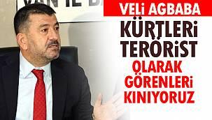 Ağbaba, 'Kürtleri Terörist Olarak Görenleri Kınıyoruz'