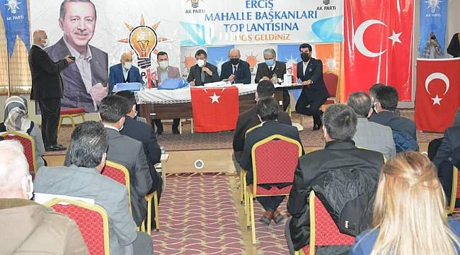 Ak Parti'de mahalle başkanlarına yeni görev - Vanhaber