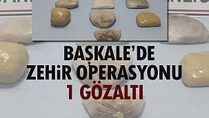 Başkale'de Zehir Operasyonu-1 Gözaltı